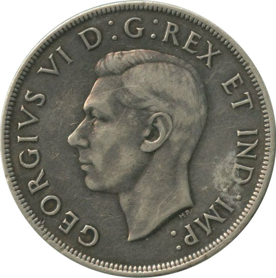F-12 - 1 dollar 1937 to 1952 - George VI