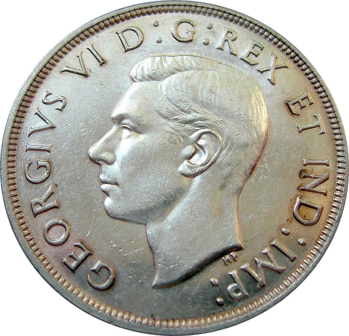 AU-50 - 1 dollar 1937 to 1952 - George VI