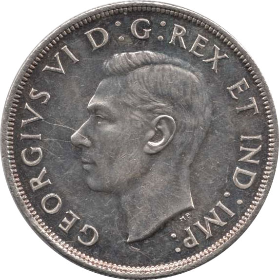 VF-20 - 1 dollar 1937 to 1952 - George VI