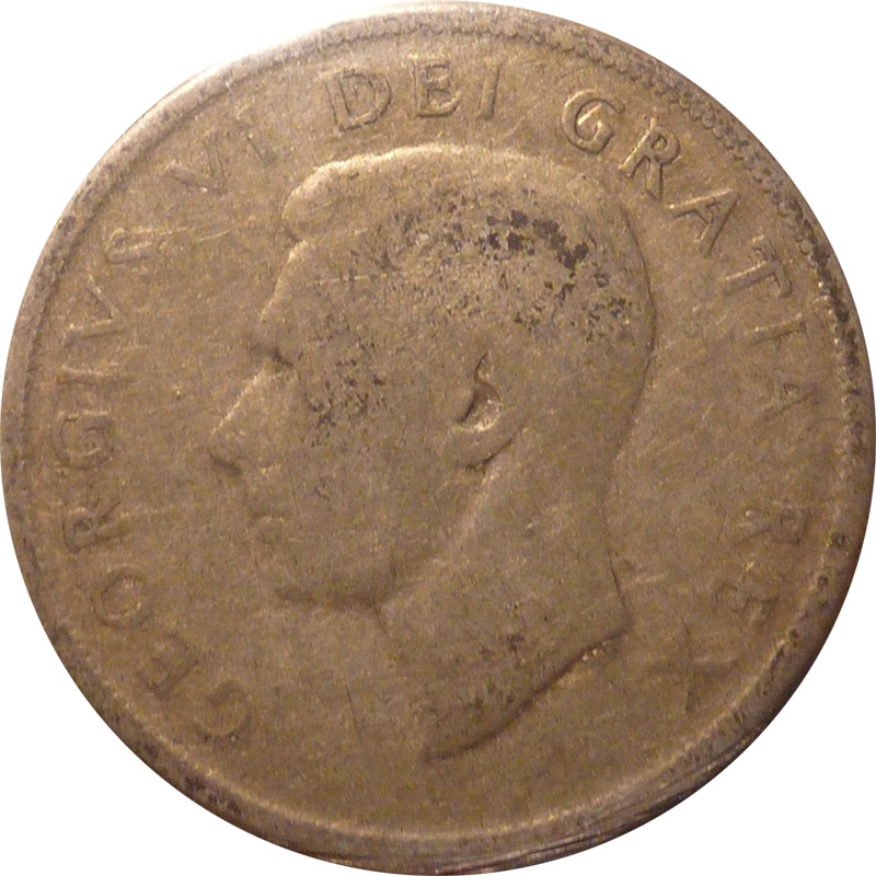 AG-3 - 1 dollar 1937 to 1952 - George VI