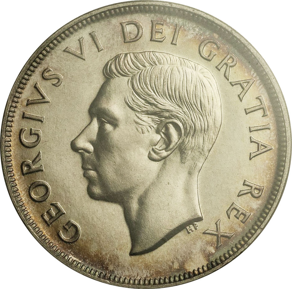 MS-60 - 1 dollar 1937 to 1952 - George VI