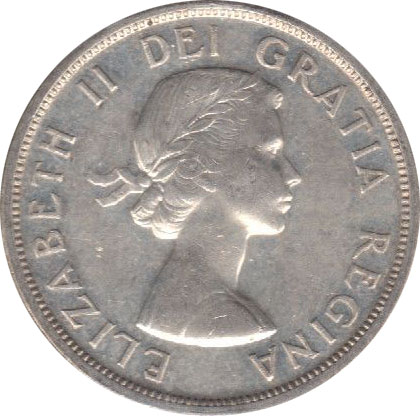 AU-50 - 1 dollar 1953 to 1964 - Elizabeth II