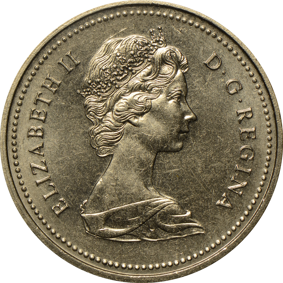 MS-60 - 1 dollar 1965 to 1989 - Elizabeth II