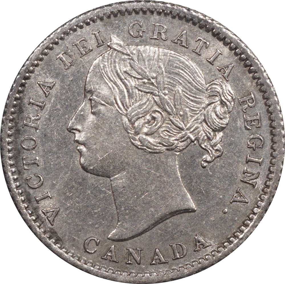 AU-50 - 10 cents 1858 to 1901 - Victoria