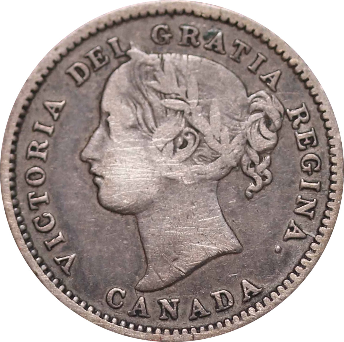 F-12 - 10 cents 1858 to 1901 - Victoria