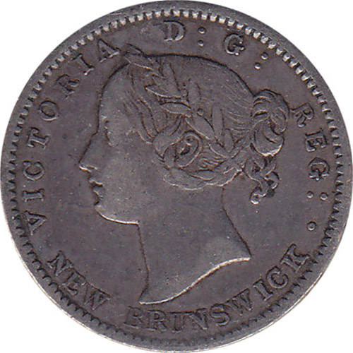 VF-20 - 10 cents 1862 and 1864 - New Brunswick - Victoria