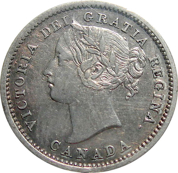 EF-40 - 10 cents 1858 to 1901 - Victoria