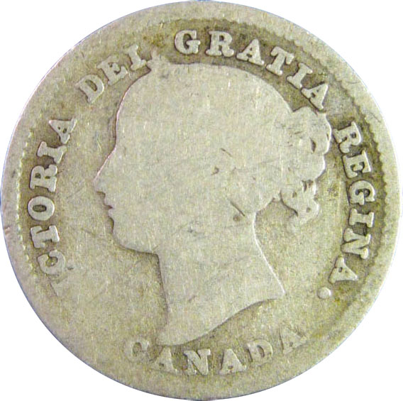 AG-3 - 10 cents 1858 to 1901 - Victoria