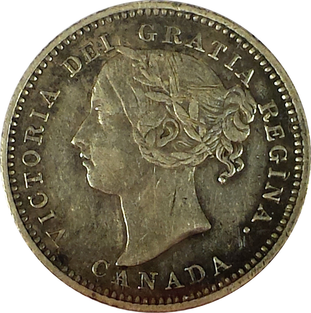 VF-20 - 10 cents 1865 to 1896 - Newfoundland - Victoria