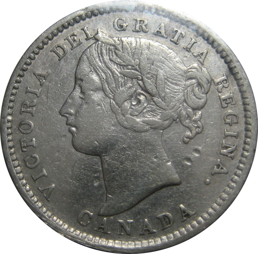 VF-20 - 10 cents 1858 to 1901 - Victoria