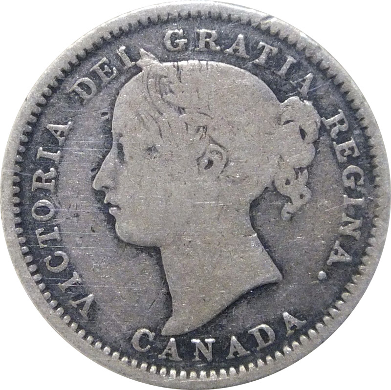 G-4 - 10 cents 1858 to 1901 - Victoria