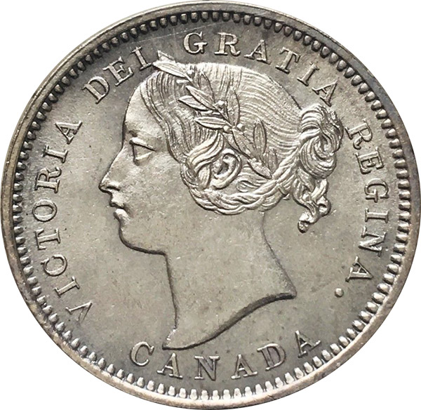 MS-60 - 10 cents 1858 to 1901 - Victoria