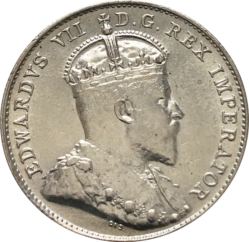 EF-40 - 10 cents 1902 to 1910 - Edward VII