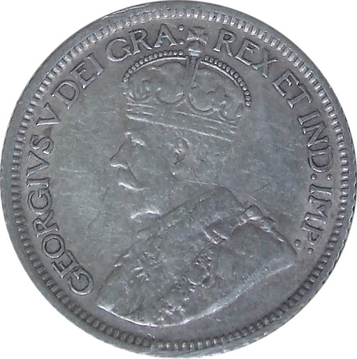 VF-20 - 10 cents 1911 to 1936 - Georges V