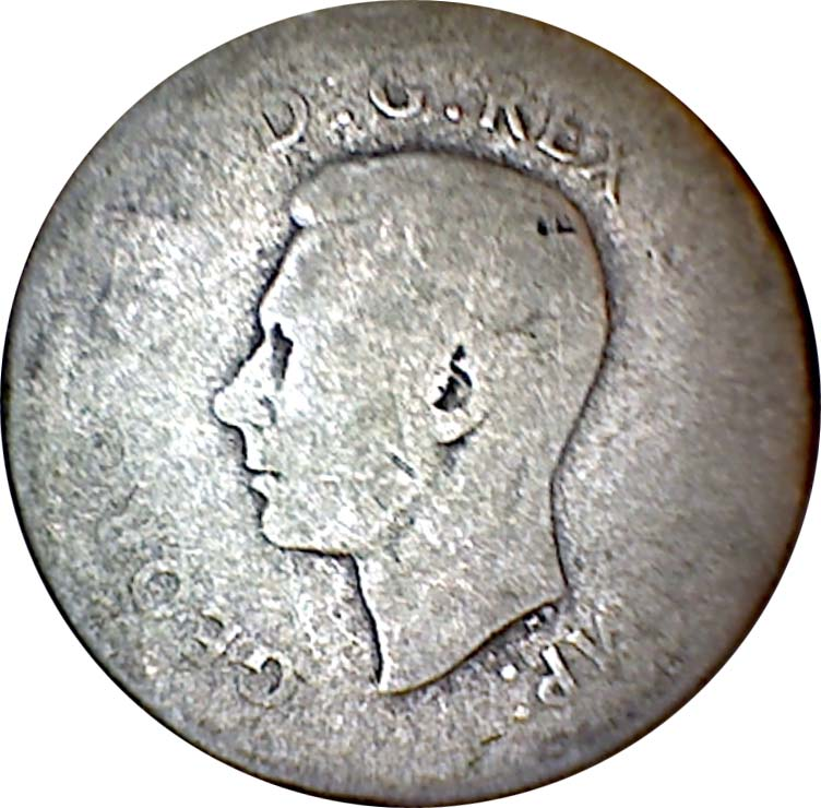 AG-3 - 10 cents 1937 to 1952 - George VI