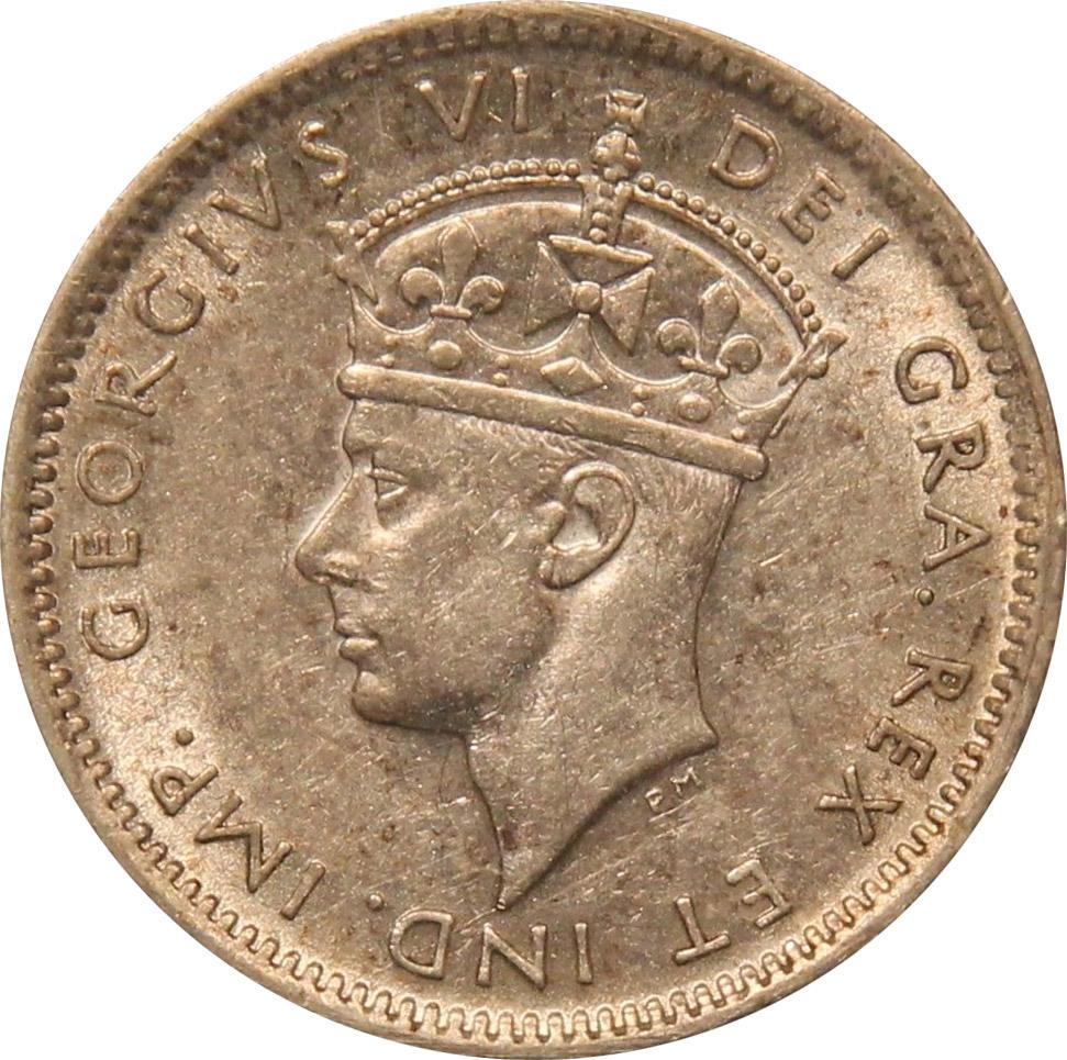 AU-50 - 10 cents 1938 to 1947 - Newfoundland - George VI