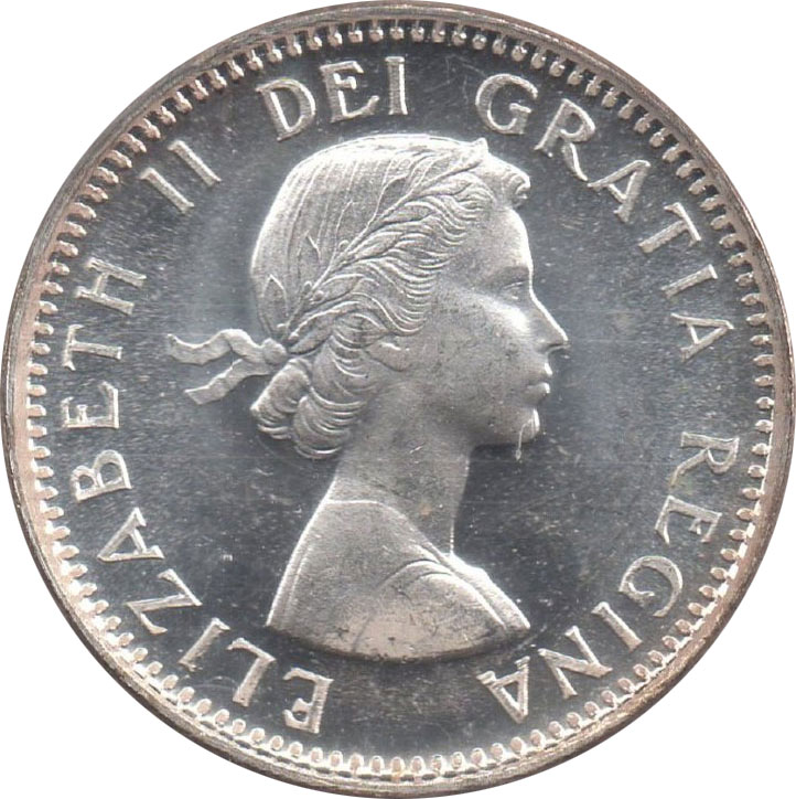 MS-60 - 10 cents 1953 to 1964 - Elizabeth II