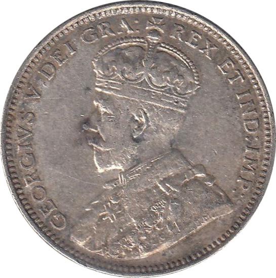 EF-40 - 20 cents 1912 - Newfoundland - George V