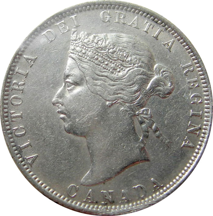 EF-40 - 25 cents 1870 to 1901 - Victoria