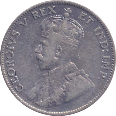VF-20 - 25 cents 1911 to 1936 - George V