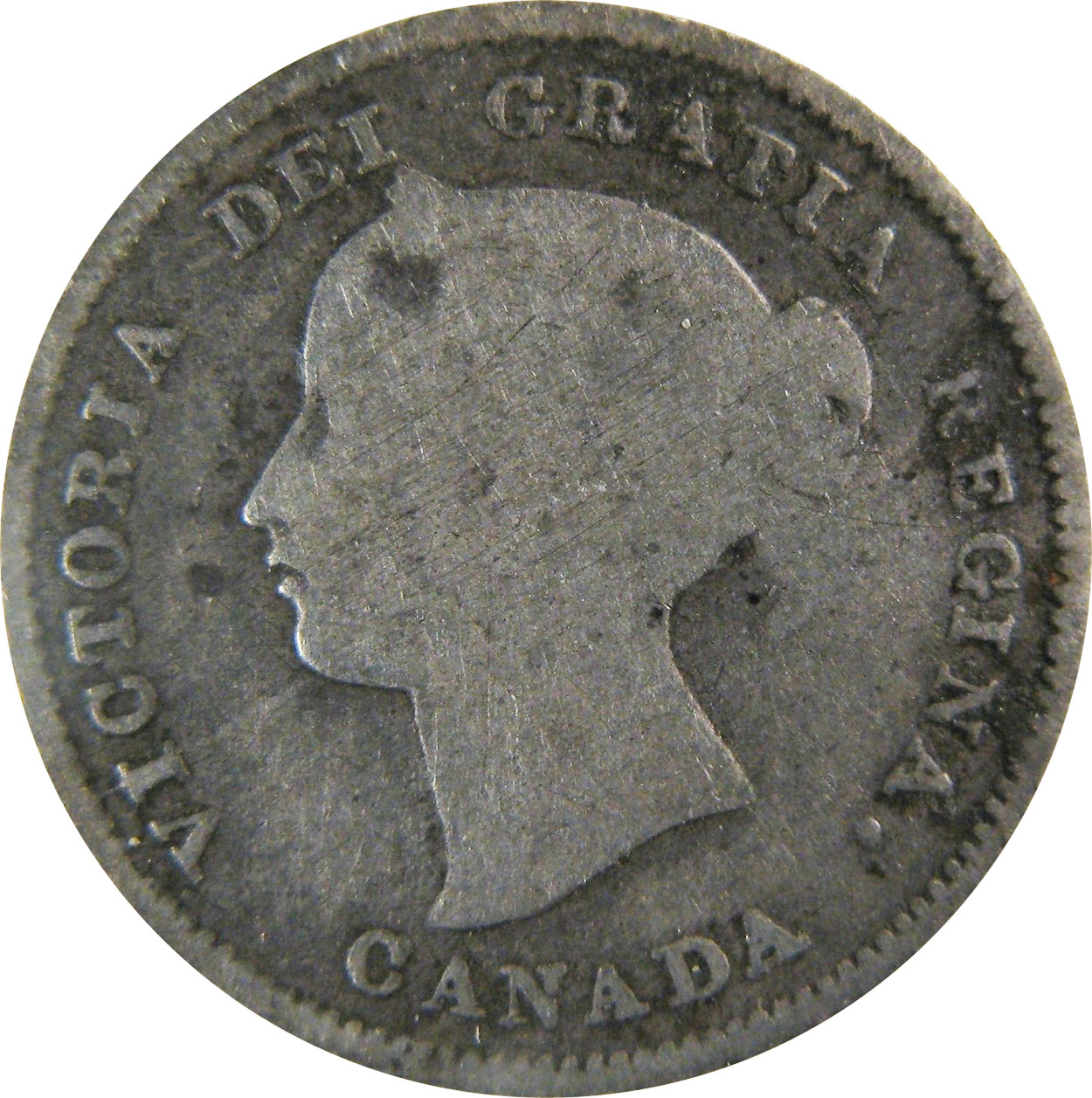 AG-3 - 5 cents 1858 to 1901 - Victoria