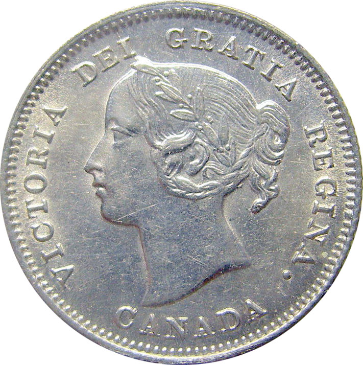 MS-60 - 5 cents 1858 to 1901 - Victoria