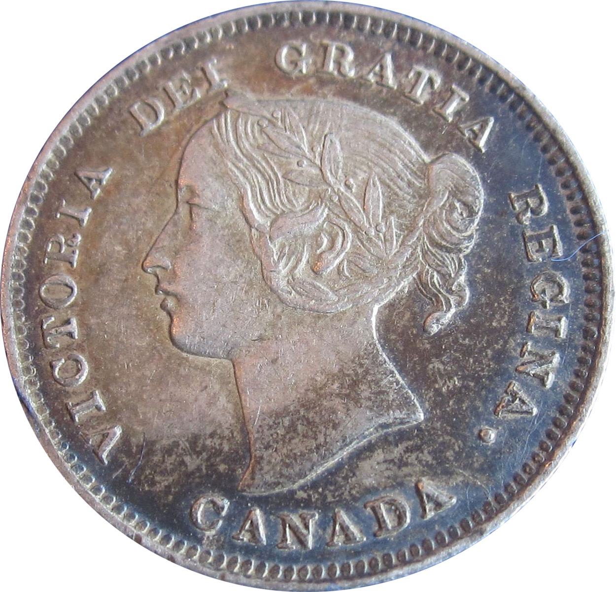 EF-40 - 5 cents 1858 to 1901 - Victoria