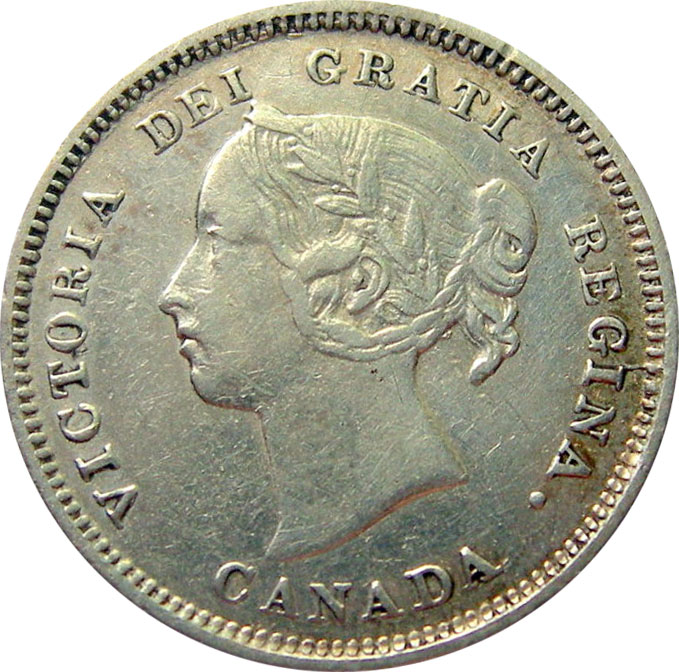 VF-20 - 5 cents 1858 to 1901 - Victoria