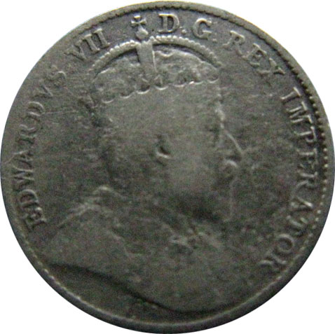 AG-3 - 5 cents 1902 to 1910 - Edward VII
