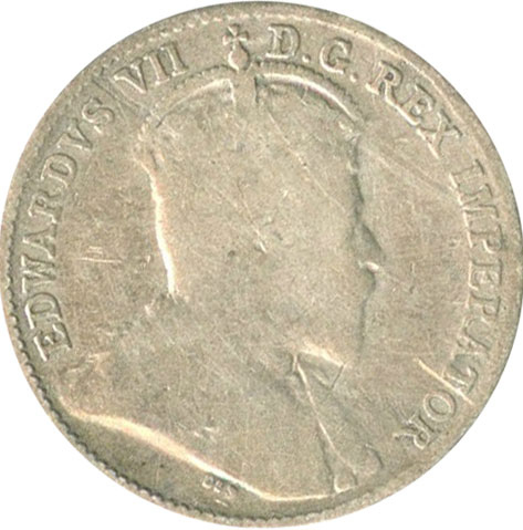 G-4 - 5 cents 1902 to 1910 - Edward VII