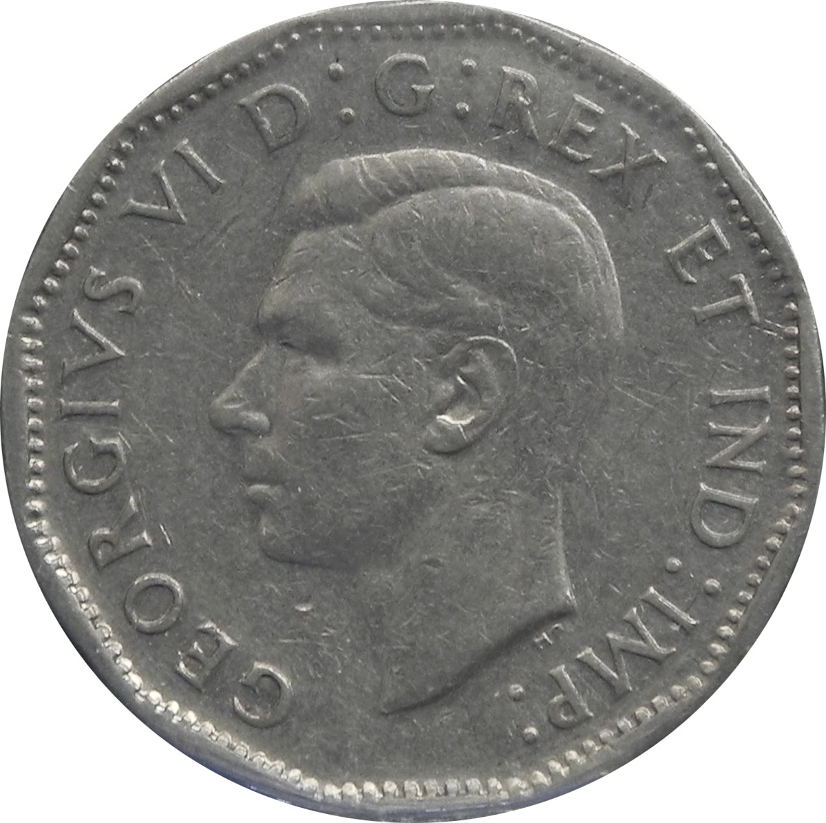 VF-20 - 5 cents 1937 à 1952 - George VI