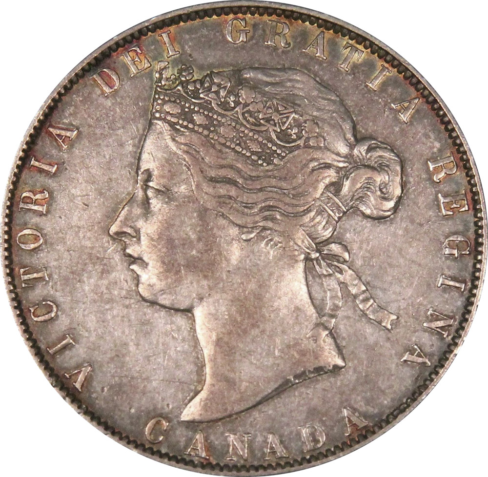 EF-40 - 50 cents 1870 to 1901 - Victoria