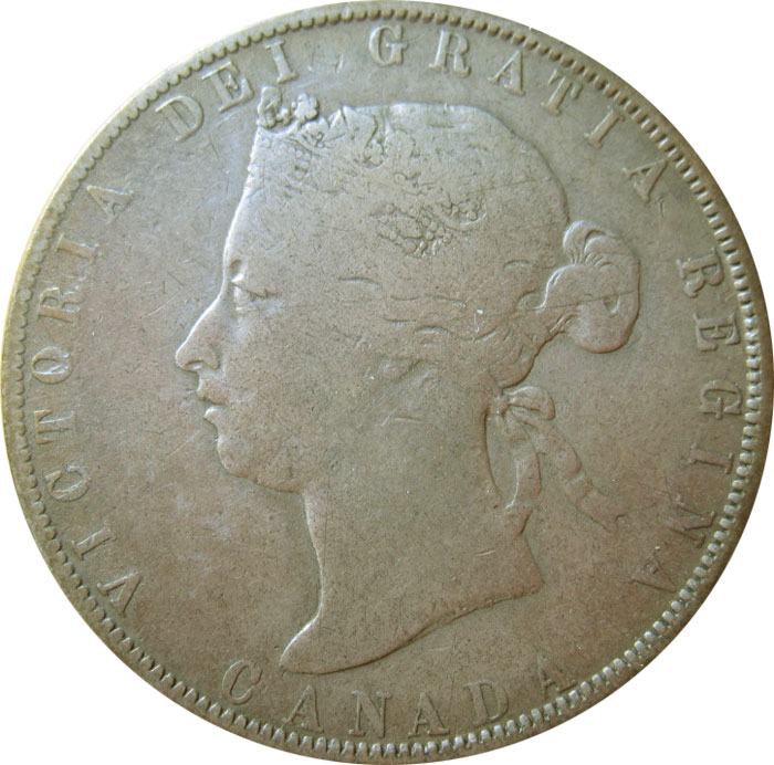 G-4 - 50 cents 1870 to 1901 - Victoria