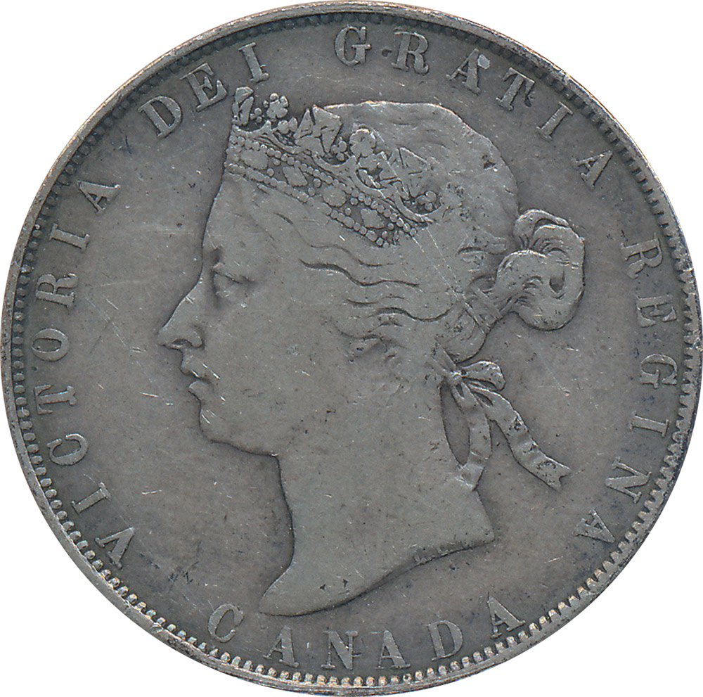 VG-8 - 50 cents 1870 to 1901 - Victoria