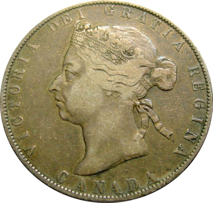 F-12 - 50 cents 1870 to 1901 - Victoria