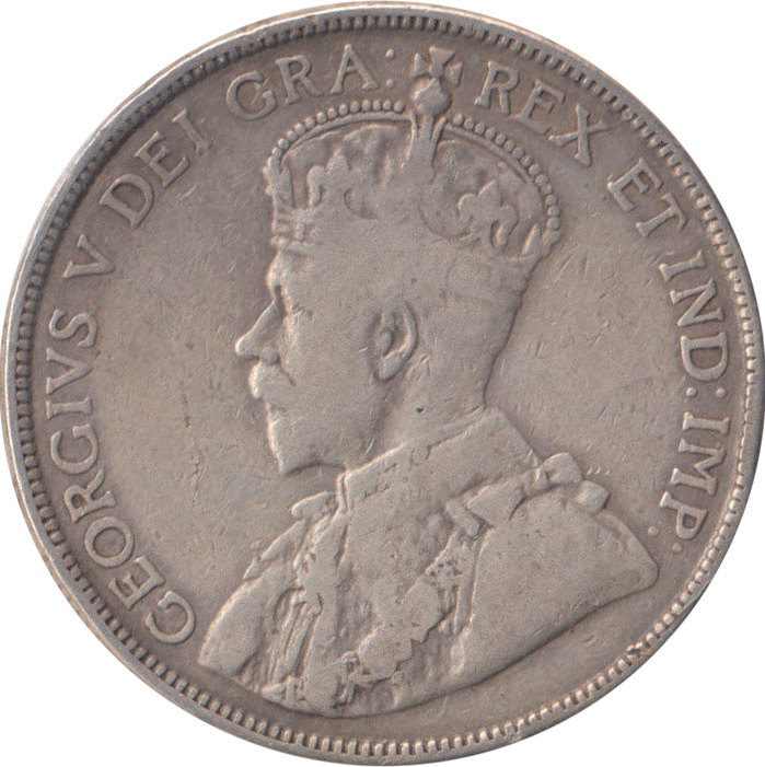F-12 - 50 cents 1911 à 1936 - George V