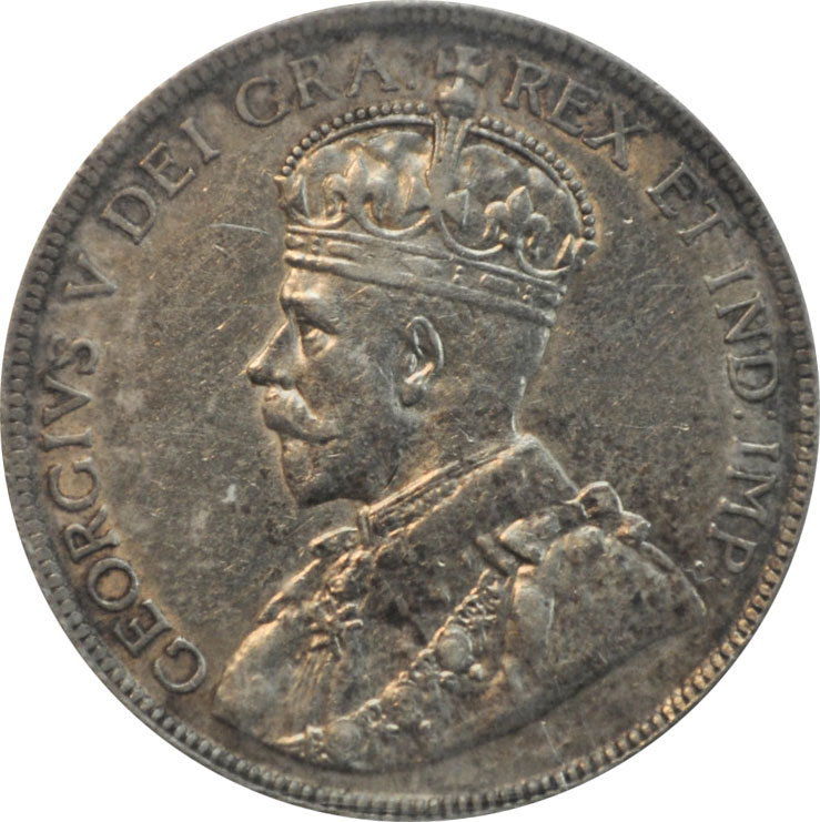 EF-40 - 50 cents 1911 to 1936 - George V