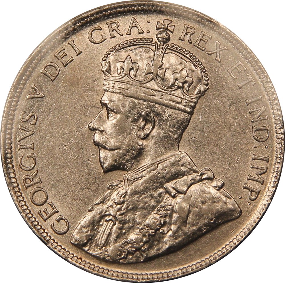 AU-50 - 50 cents 1911 to 1919 - Newfoundland - Edward VII