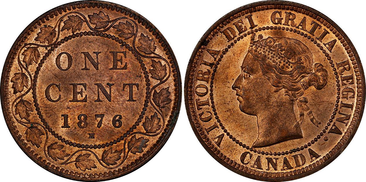 1 cent 1876