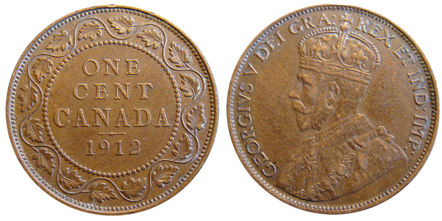 1 cent 1912