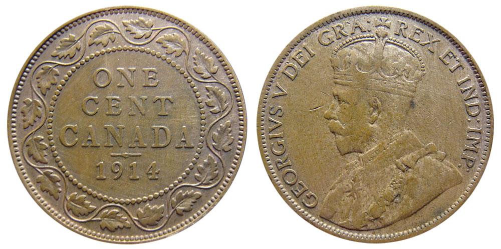 1 cent 1914