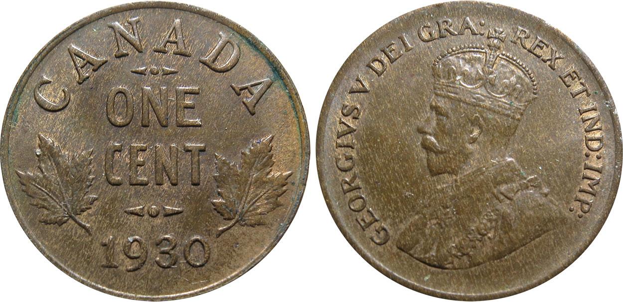 1 cent 1930