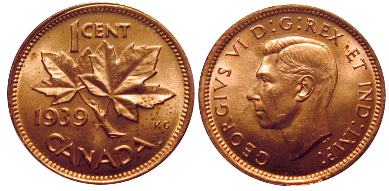1 cent 1939