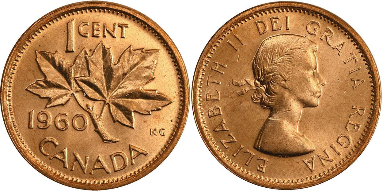1 cent 1960