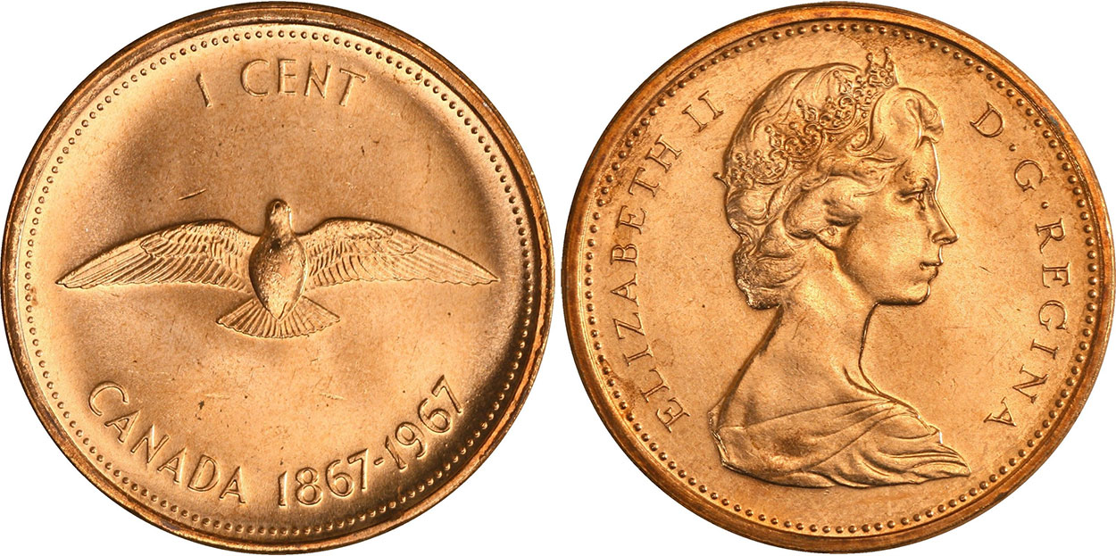 1 cent 1967