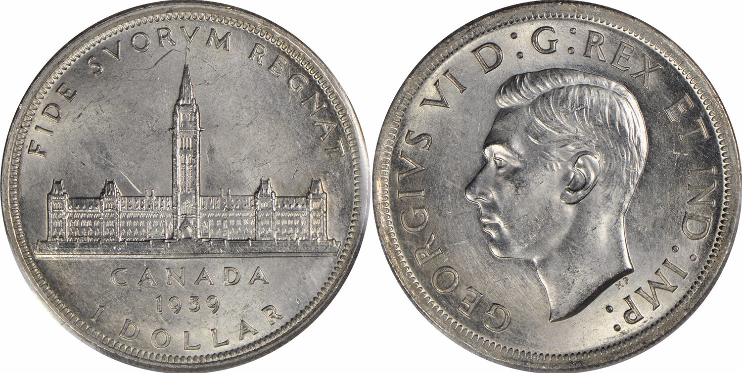 Coins And Canada 1 Dollar 1939 Canadian Coins Price