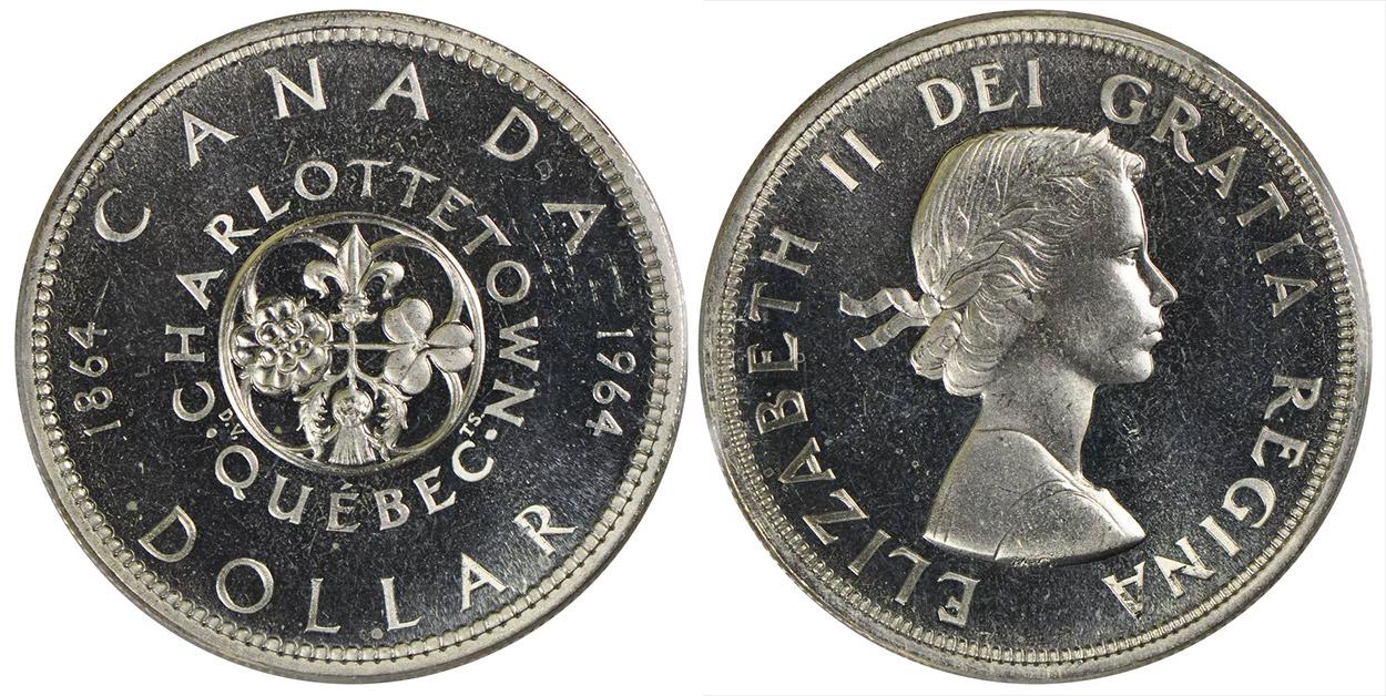 1 dollar 1964