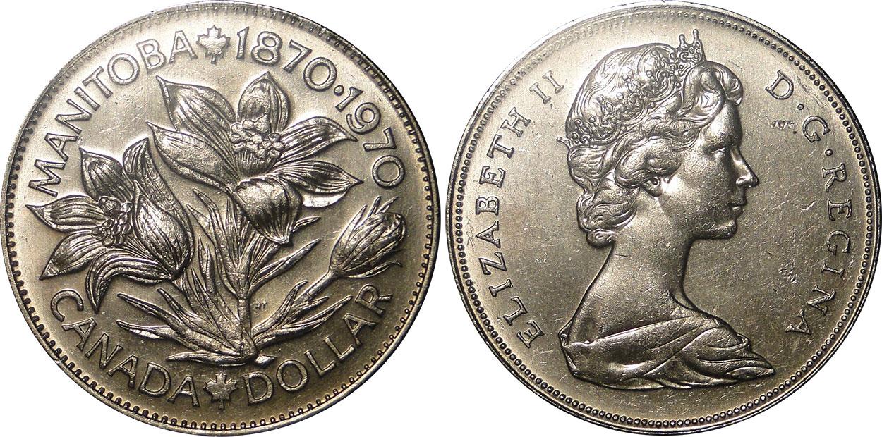 1 dollar 1970