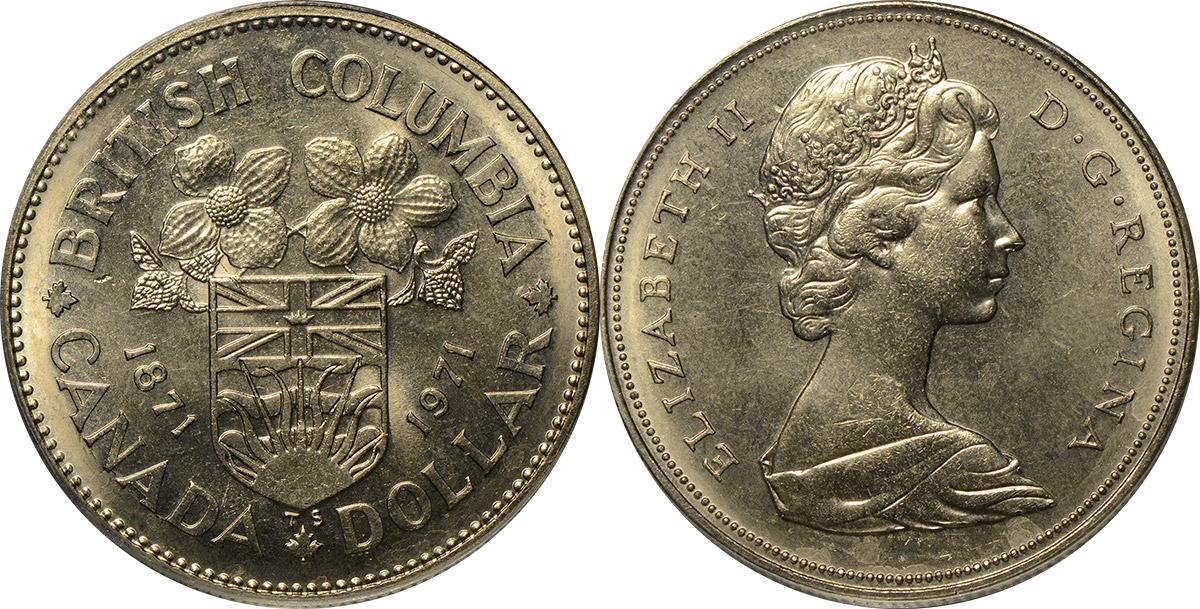 1 dollar 1971