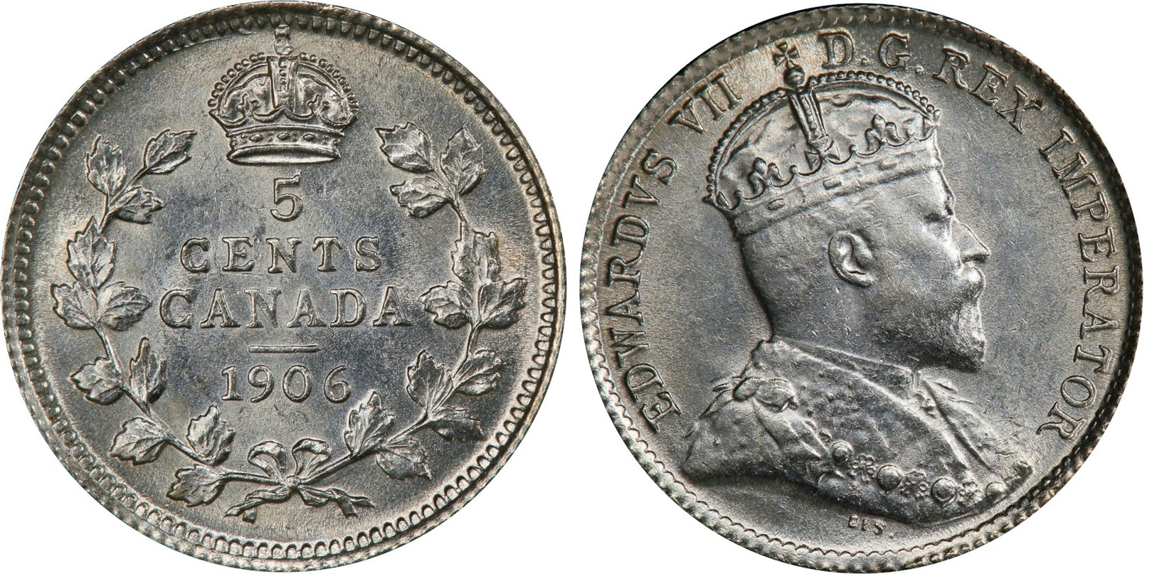 5 cents 1906